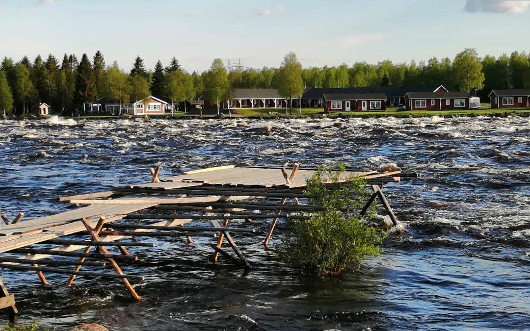 Tulva värittää krenkkujen rakentamista