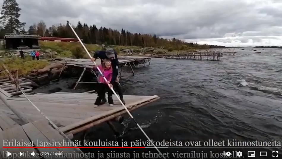 Kukkolankoski – Kalan suojaama kylä